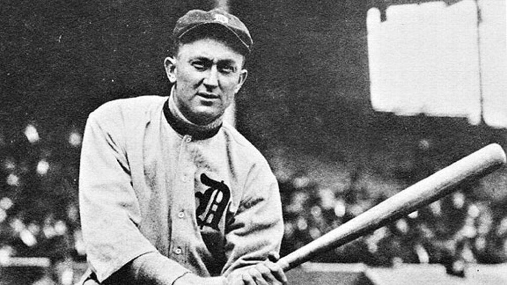Ty Cobb Detroit Tigers